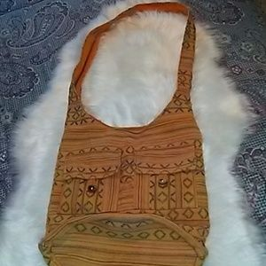 NWOT Authentic Hand Made in India Hobo Bag